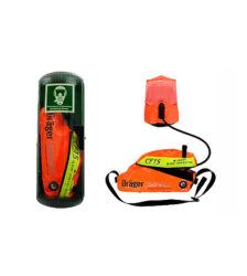 East Wind Safety - Draeger Saver CF Emergency Escape Breathing Device (EEBD) UAE, Dubai, Abu Dhabi