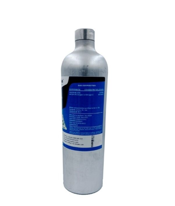 East Wind Safety - Calibration Gas 20PPM Chlorine Balance Air (34L) in UAE, Dubai and Abu Dhabi