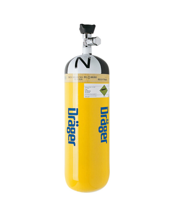 East Wind Safety - Draeger compressed air breathing cylinders in UAE, Dubai and Abu Dhabi