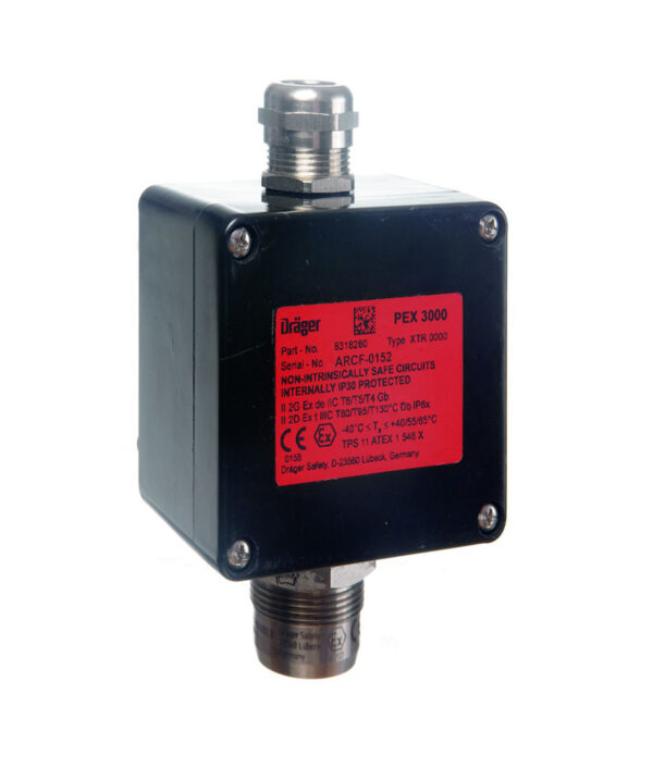 East Wind Safety - Draeger PEX 3000 flammable gas detector in UAE, Dubai and Abu Dhabi