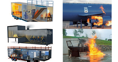 Fire simulators