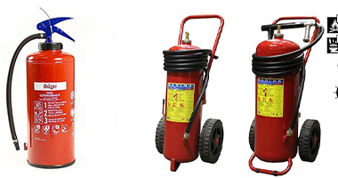 Installation, maintenance, and training of Fixed & portable Fire Extinguishers